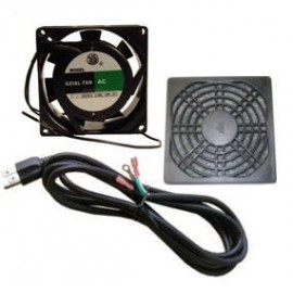 "Fan 4"" 30 CFM T1 With Guard & Powercord"