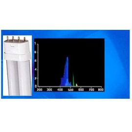 96w Compact FL 460nm Actinic Royal Blue - Linear Pin