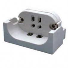 Compact Fluorescent Socket - Square Pin